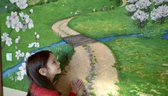 Отзыв роспись стен в детской комнате