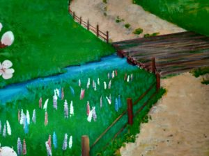 Мостик над речкой