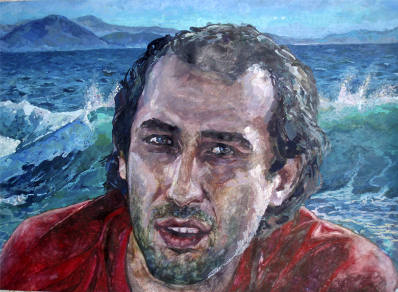 Портрет моряка на заказ