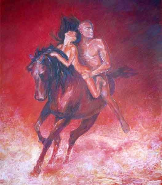 Картина на заказ пастелью
