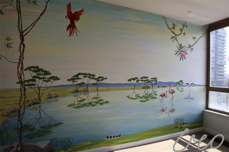 роспись стен москва