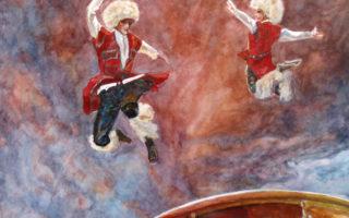 Картина на заказ танец
